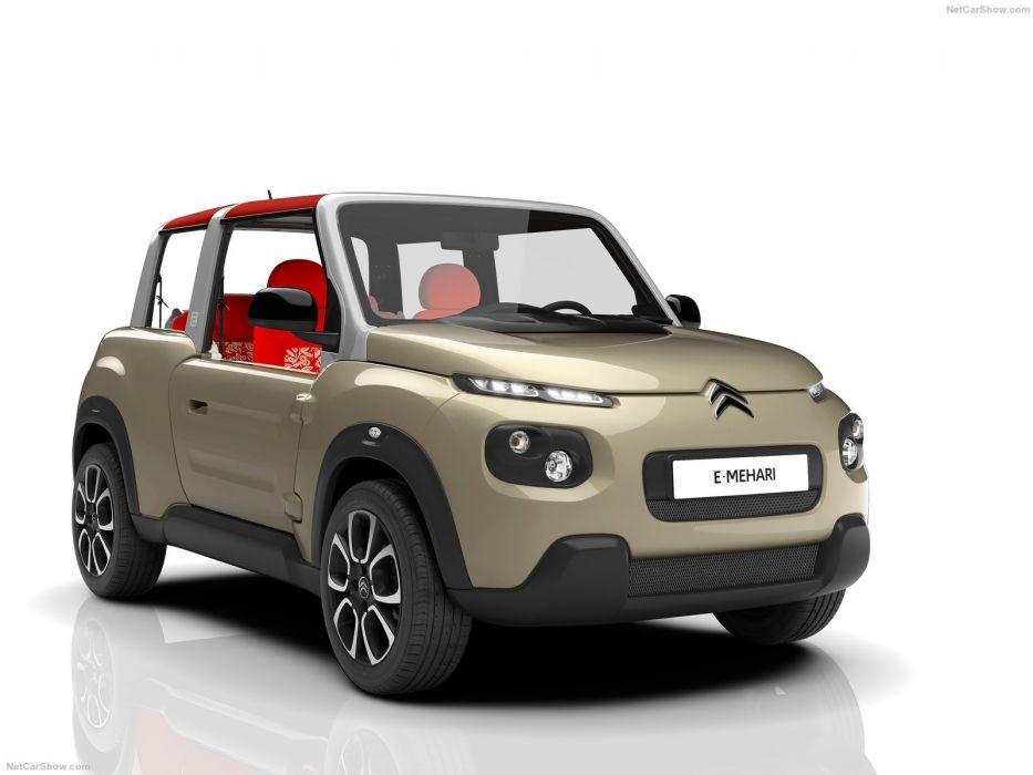 Citroen e-Mehari cars electric 2016 wallpaper