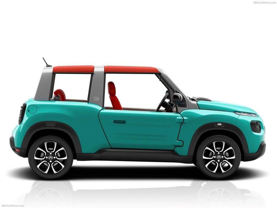 Citroen e-Mehari cars electric 2016 wallpaper