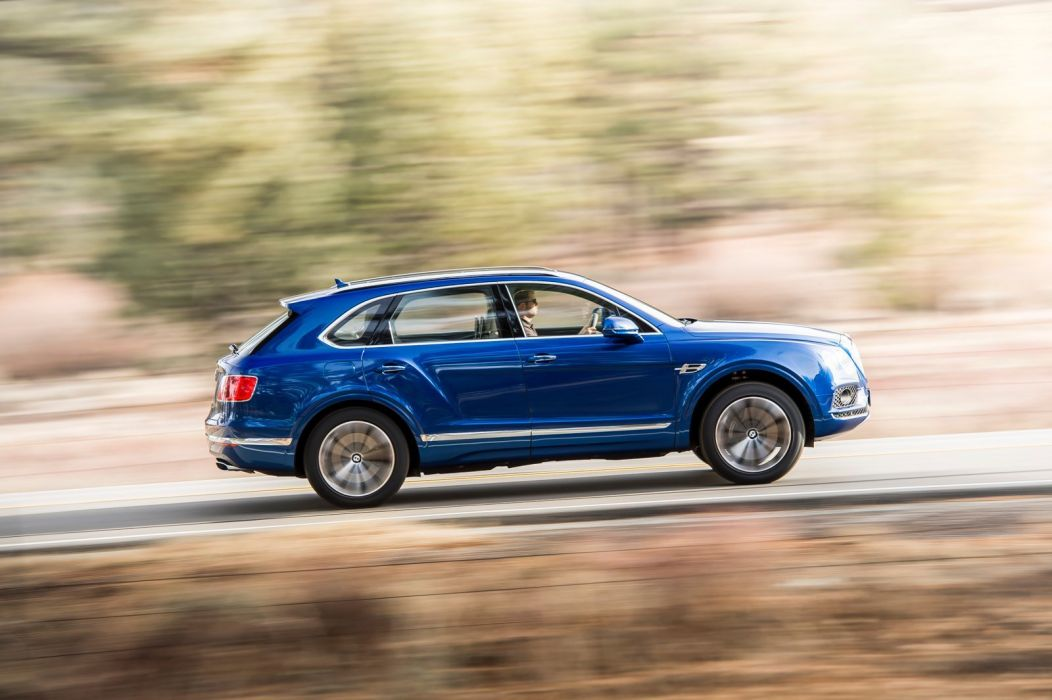 2016 Bentley Bentayga cars suv blue wallpaper