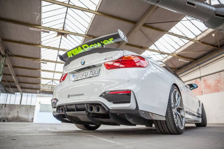 BMW M4 Carbonfiber Dynamics cars sedan modified wallpaper