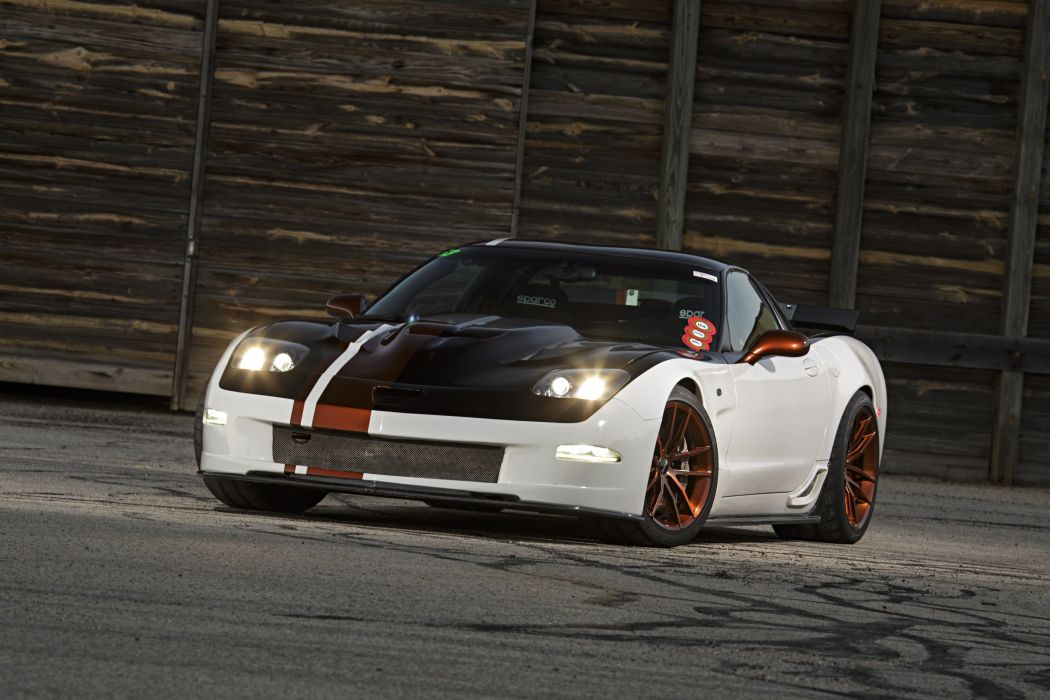 2002 chevy Corvette Z06 cars coupe modified wallpaper