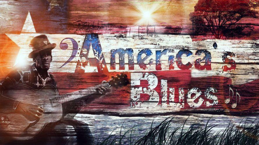 blues folk soul rock bluegrass jazz r-b guitar wallpaper