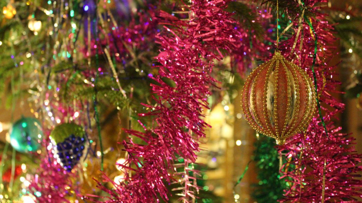 adornos navidad bolas luces wallpaper
