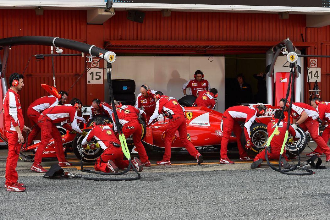 2015 SF15-T formula one ferrari scuderia cars racecars wallpaper