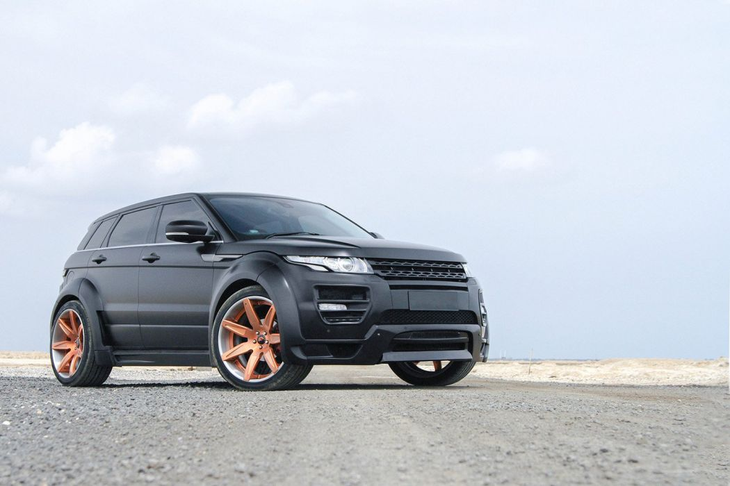 Range Rover Evoque Forgiato wheels cars suv black wallpaper