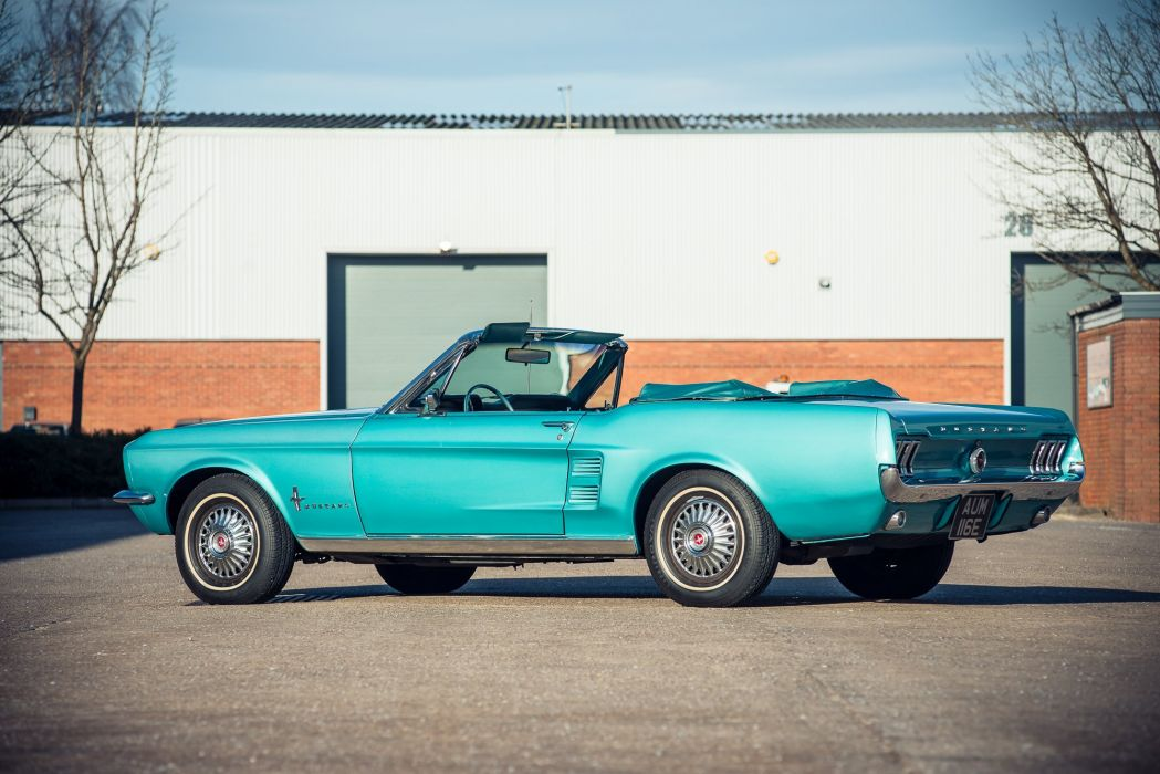 1967 Ford Mustang Convertible cars classic wallpaper