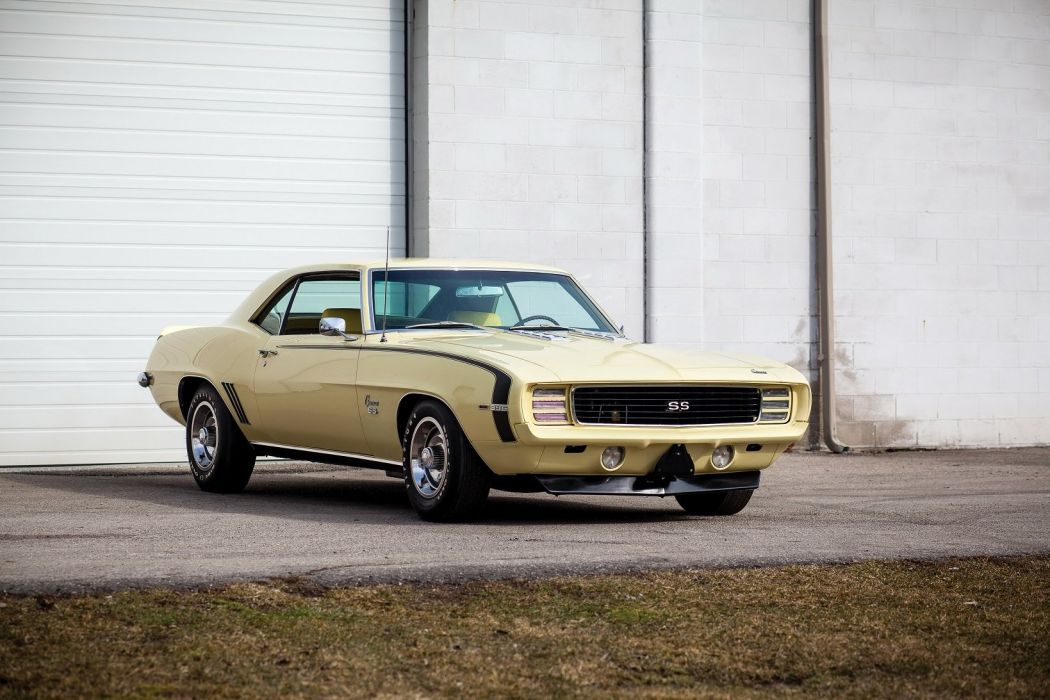 1969 Chevrolet Camaro RS-SS 396 Sport Coupe cars classic wallpaper