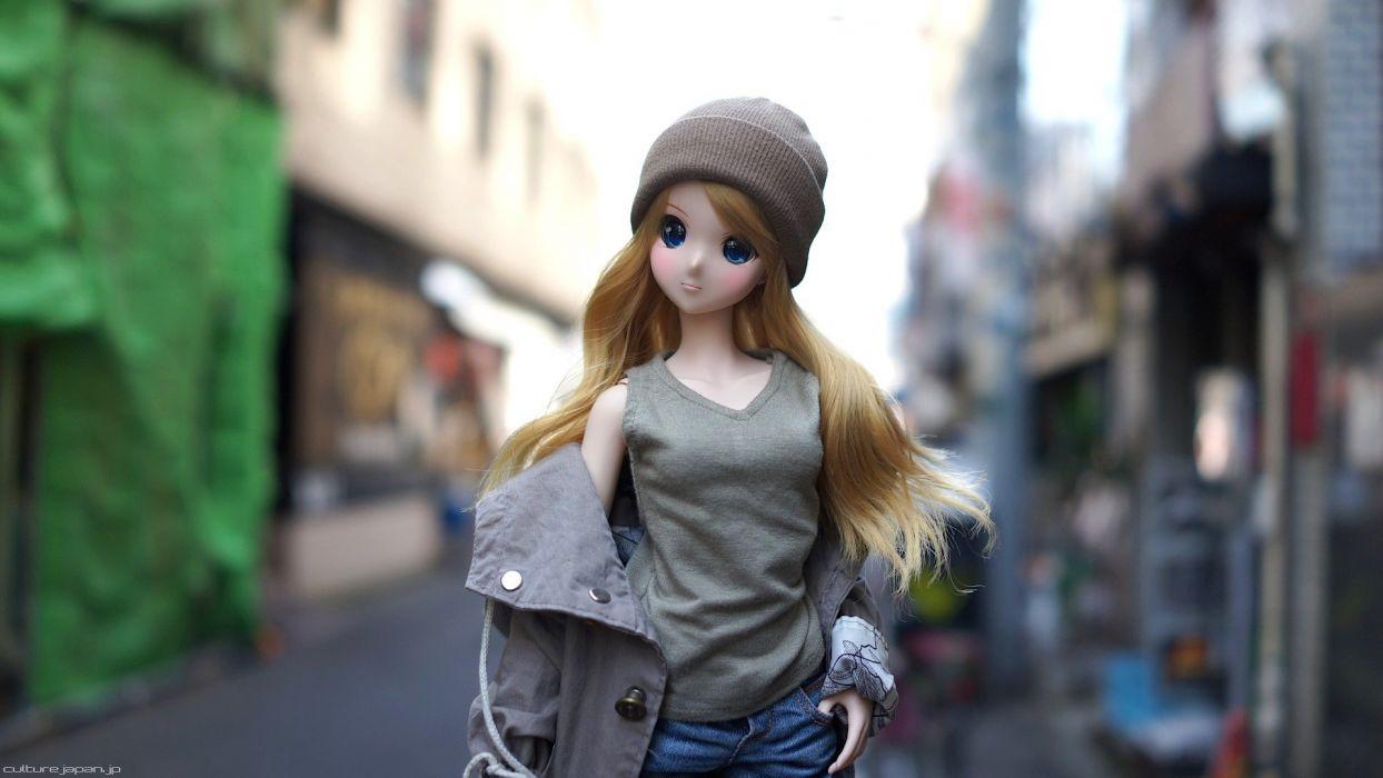 DOLL girl girls female toy toys dolls mood bokeh wallpaper