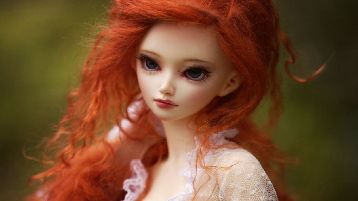 DOLL girl girls female toy toys dolls mood bokeh wallpaper