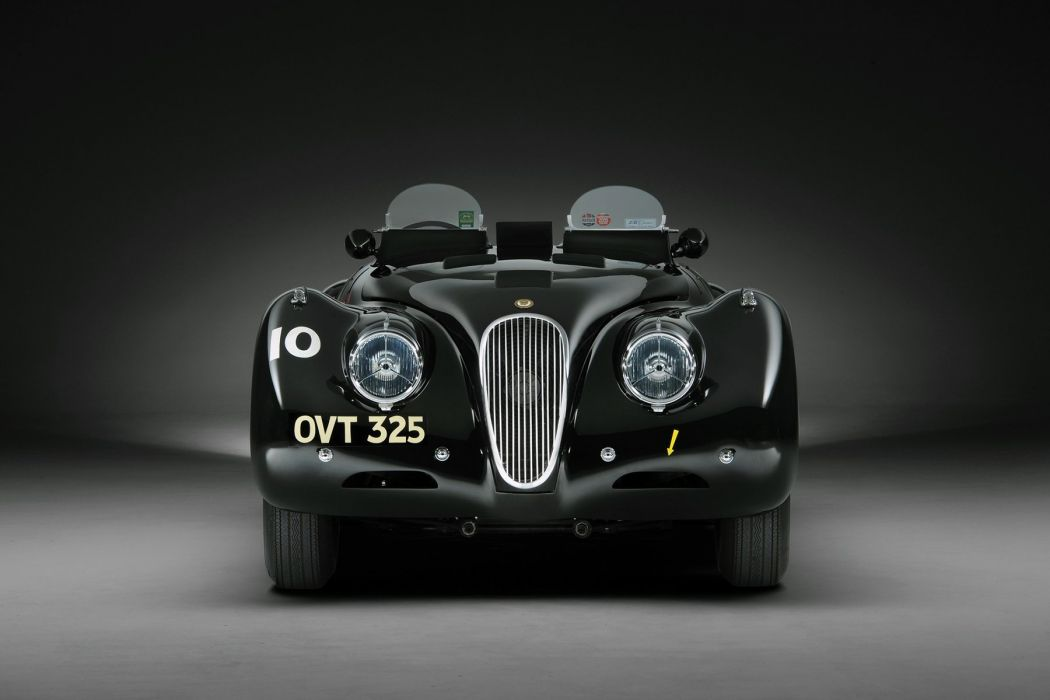Jaguar XK120 Competition Roadster 1950 cars racecars wallpaper