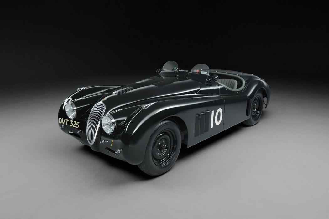 Jaguar XK120 Competition Roadster 1950 cars racecars wallpaper