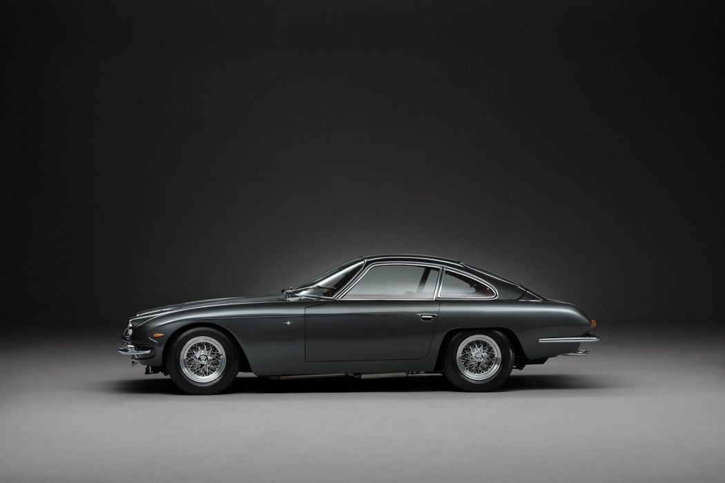 Lamborghini 400 GT 2+2 UK-spec cars coupe classic 1967 wallpaper