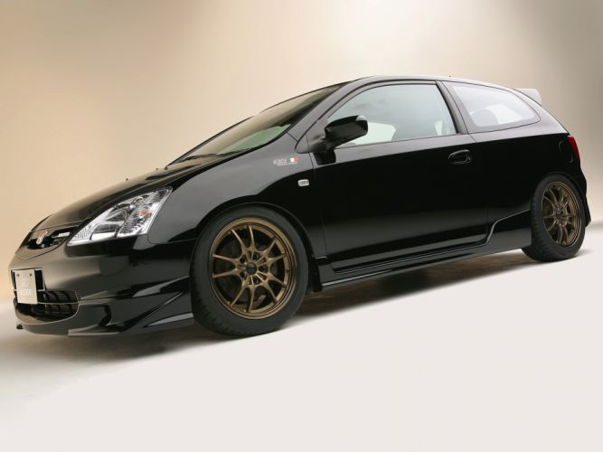 Mugen King Motorsports Honda Civic cars modified 2002 wallpaper