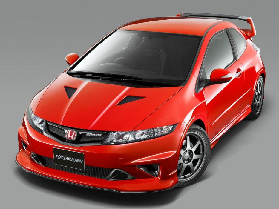 Mugen Honda Civic cars Type-R Prototype 2009 wallpaper
