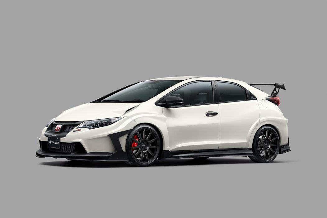 Mugen Honda Civic cars Type-R 2015 wallpaper