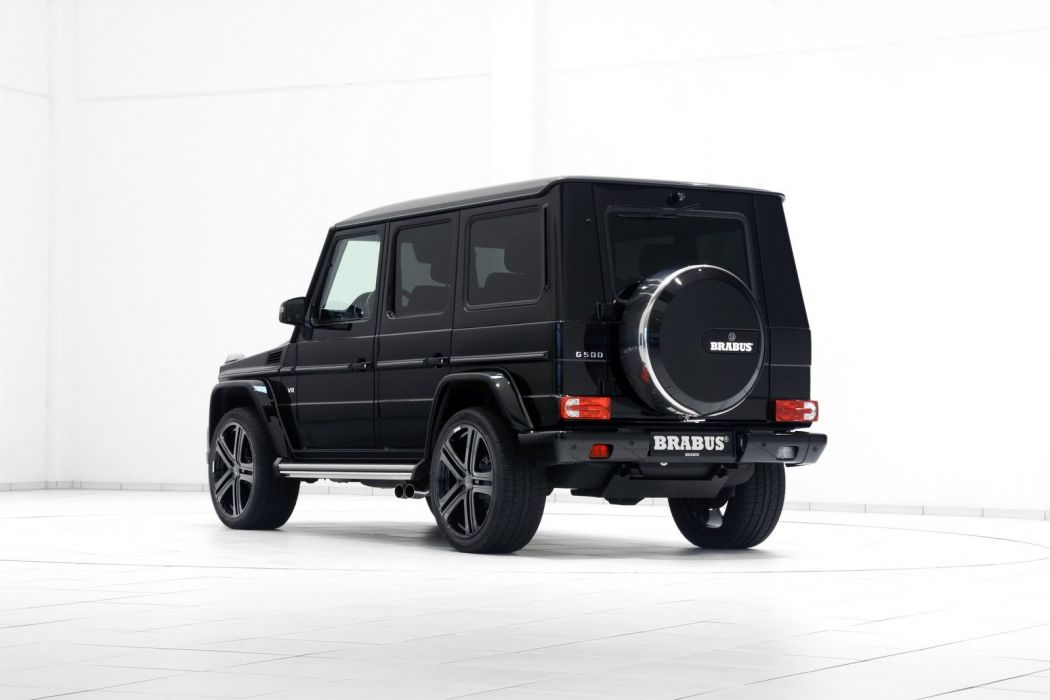 G500 Brabus mercedes 4x4 black modified wallpaper