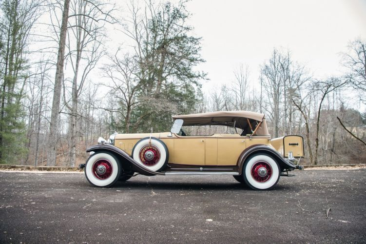1931 Cadillac 370-A V12 Phaeton by Fisher classic cars wallpaper