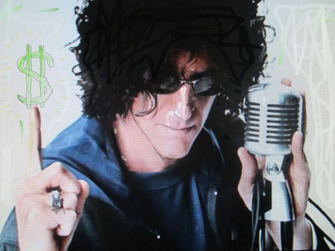 HOWARD STERN radio d-j disc jockey television seriies 1hstern actor photographer comedy wallpaper