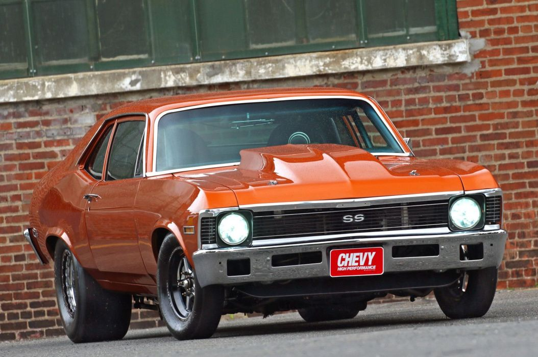 1972 Chevrolet Nova cars drag coupe classic wallpaper