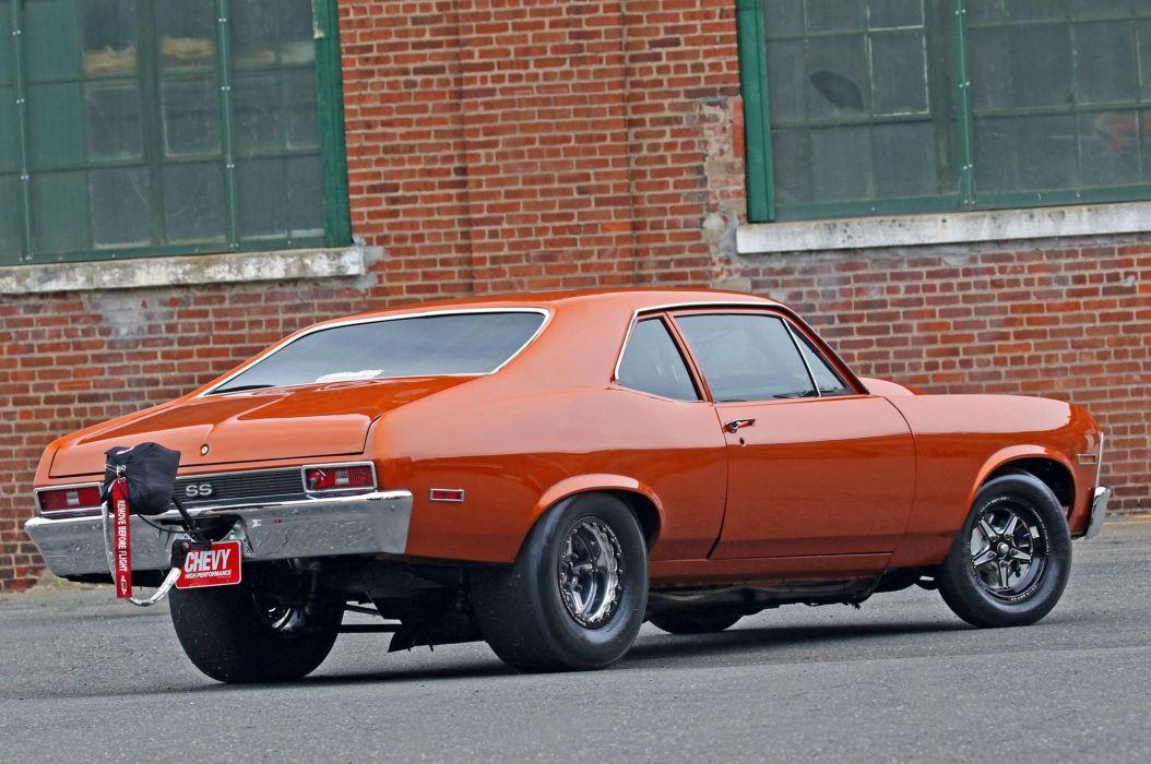 1972 Chevrolet Nova cars drag coupe classic wallpaper