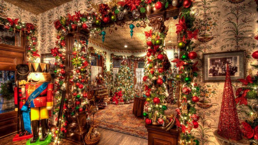 fiestas navidad adornos regalos wallpaper