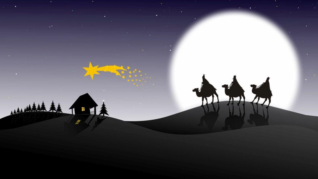 fiesta reyes magos navidaddes wallpaper