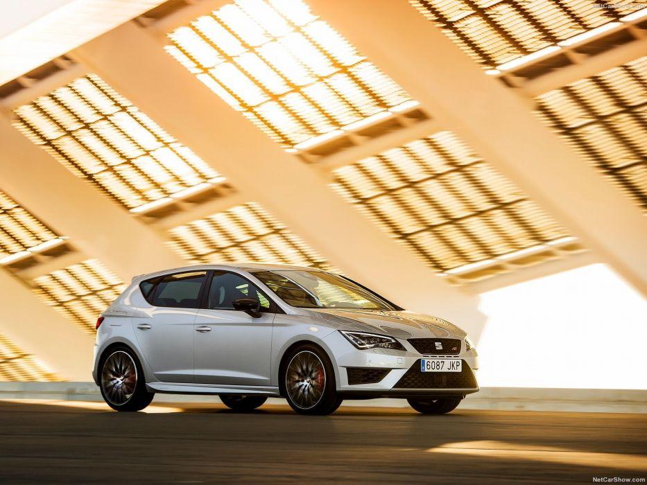 Seat Leon Cupra 290 cars 2016 wallpaper