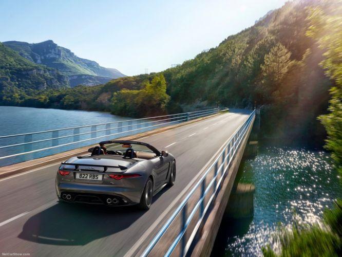 Jaguar F-Type SVR convertible cars 2016 wallpaper
