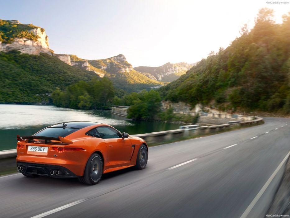 Jaguar F-Type SVR coupe cars 2016 wallpaper