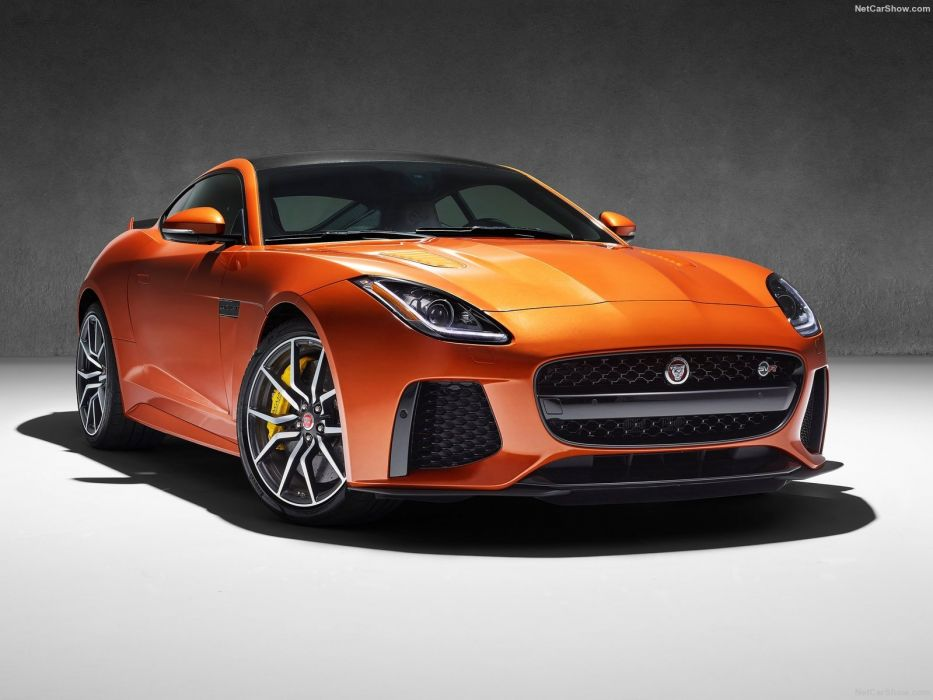 Jaguar F-Type SVR coupe cars 2016 wallpaper
