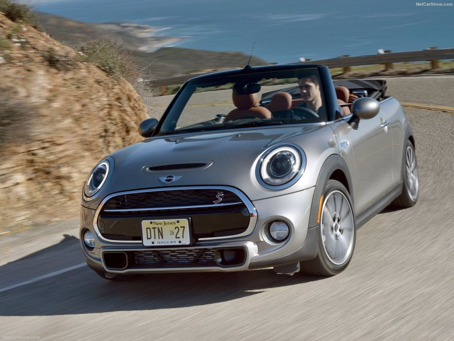 Mini Cooper S Convertible cars 2016 wallpaper