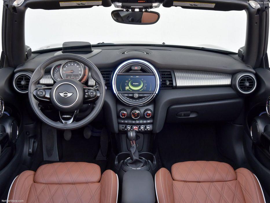 Mini Cooper S Convertible cars 2016 wallpaper