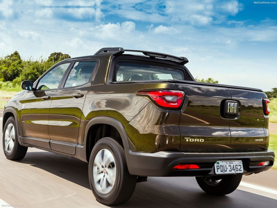 Fiat Toro pickup cars 2016 wallpaper