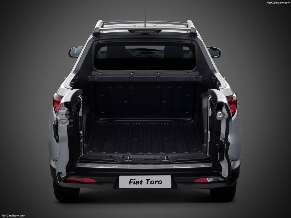 Fiat Toro pickup cars silver 2016 wallpaper