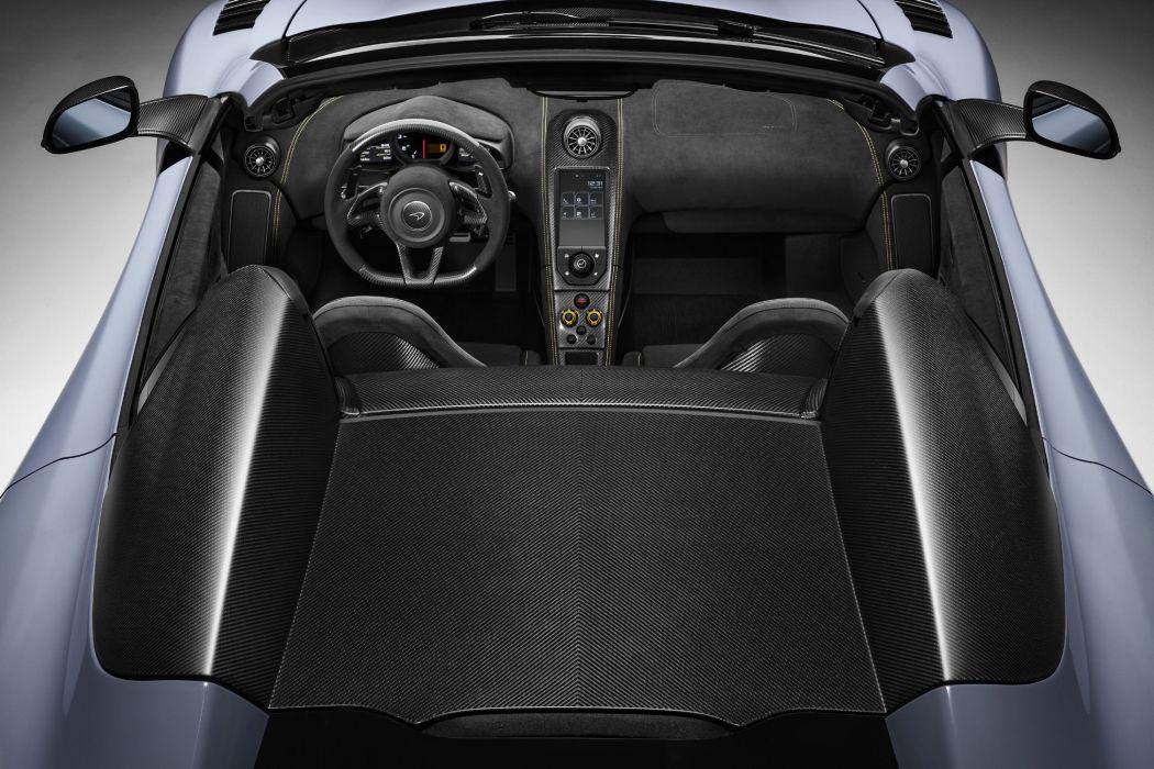 McLaren 675LT Spider cars 2016 wallpaper