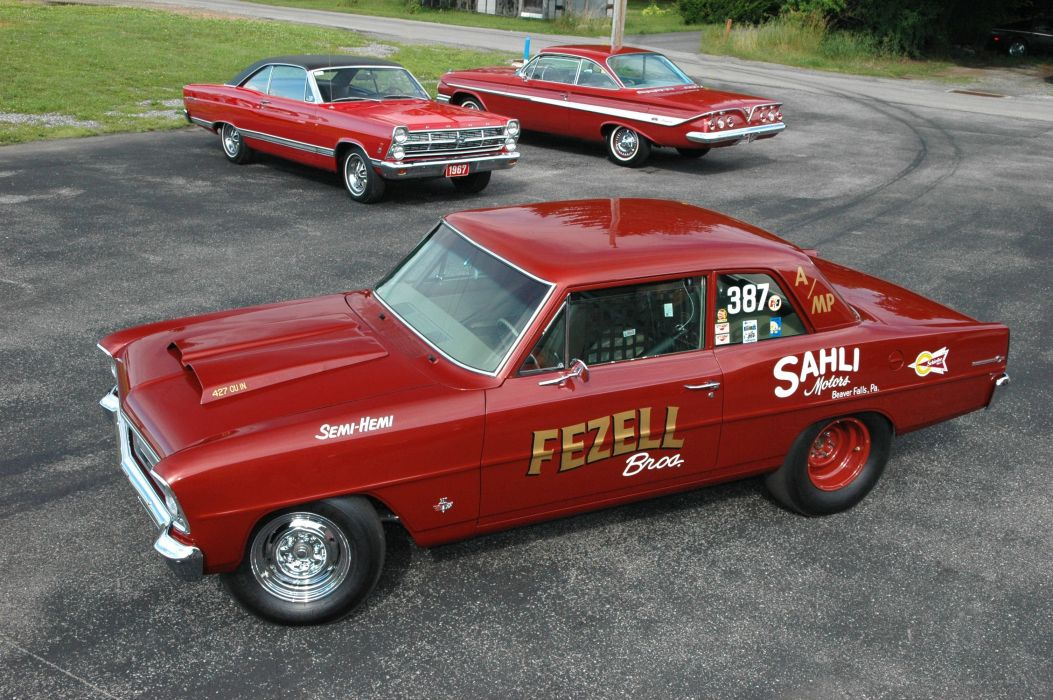 1966 Modified L88 Nova chevy cars racecars classic wallpaper