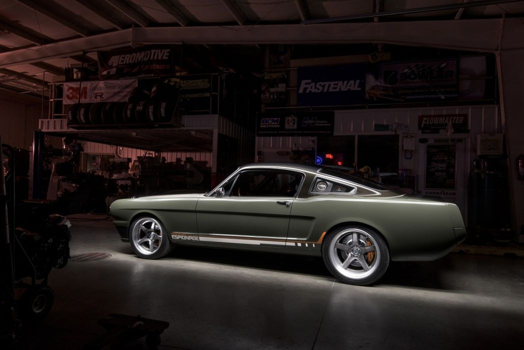 1965 Ringbrothers Ford Mustang Espionage cars modified wallpaper