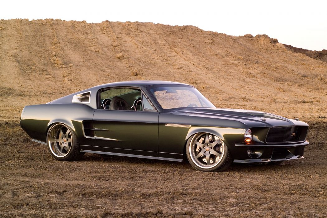 1967 Ringbrothers Ford Mustang Reactor cars modified wallpaper