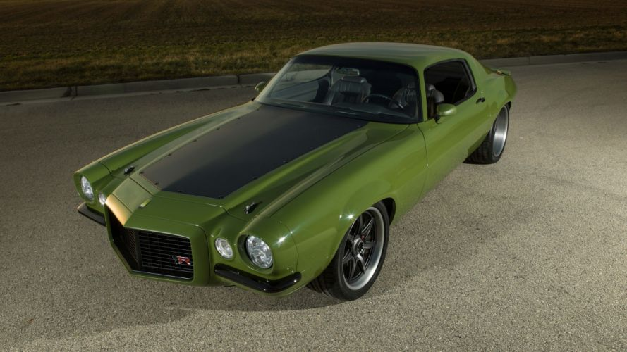1970 Ringbrothers Chevrolet Camaro Grinch cars modified wallpaper