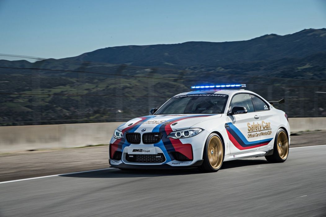 2016 BMW M2 car motogp safety wallpaper