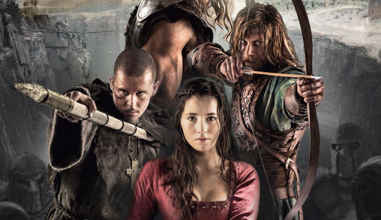 NORTHMEN VIKING SAGA fantasy action adventure fighting 1northmen warrior poster wallpaper