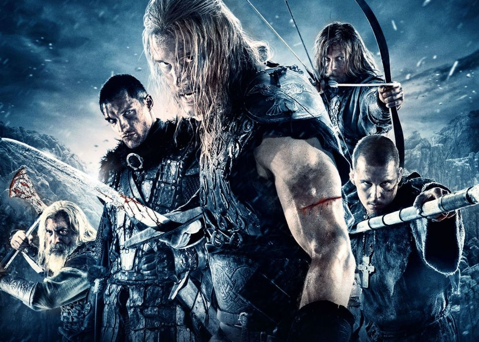 NORTHMEN VIKING SAGA fantasy action adventure fighting 1northmen warrior poster wallpaper
