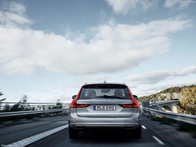 Volvo V90 Estate wagon cars 2016 wallpaper
