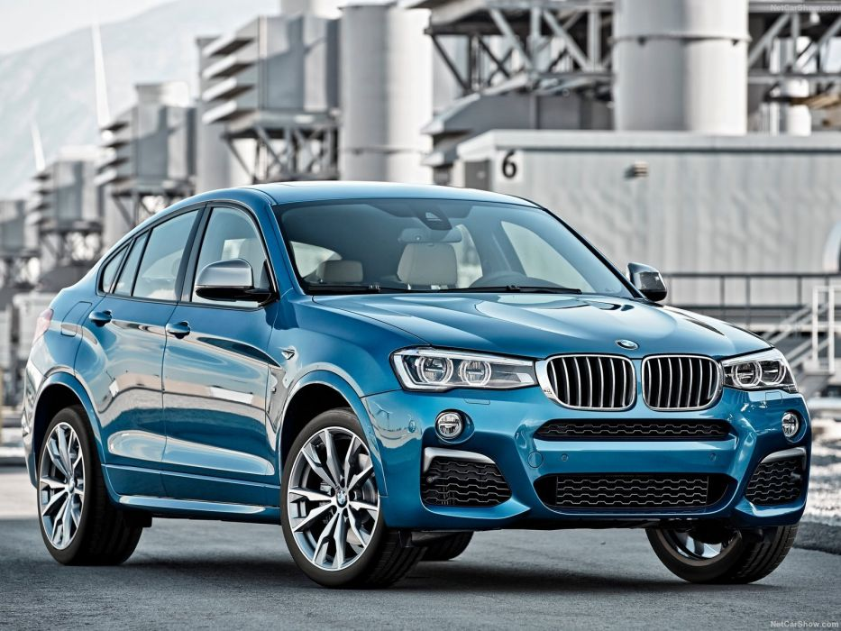 2016 BMW cars M40i blue suv wallpaper