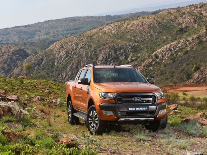 2016 Ford Ranger wildtrack truck cars 4x4 pickup wallpaper
