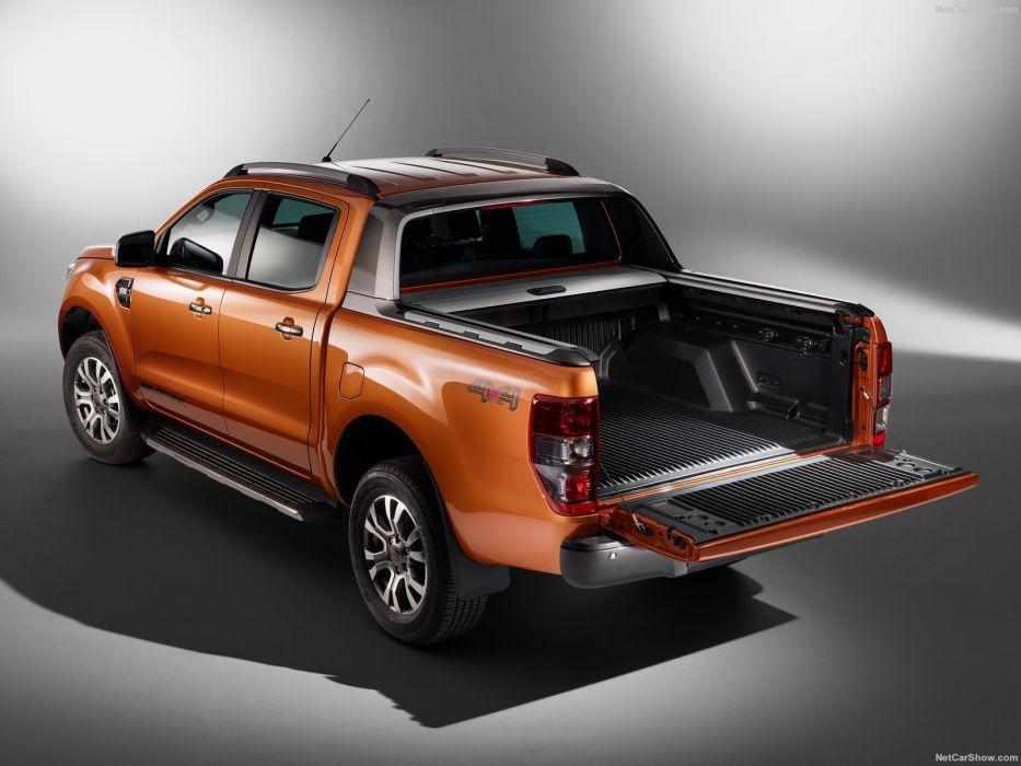 2016 Ford Ranger wildtrack truck cars 4x4 pickup wallpaper