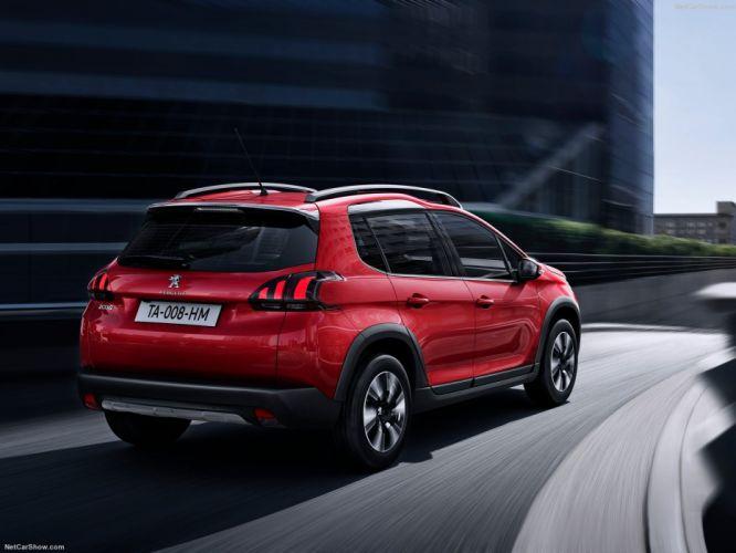 Peugeot 2008 cars red 2016 wallpaper