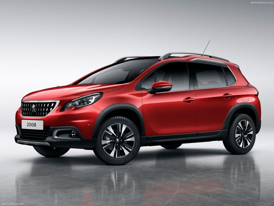 Peugeot 2008 cars red 2016 wallpaper