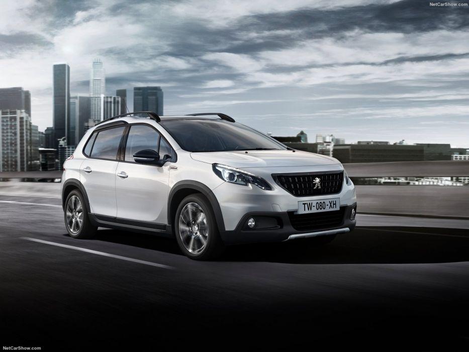Peugeot 2008 cars gt line white 2016 wallpaper