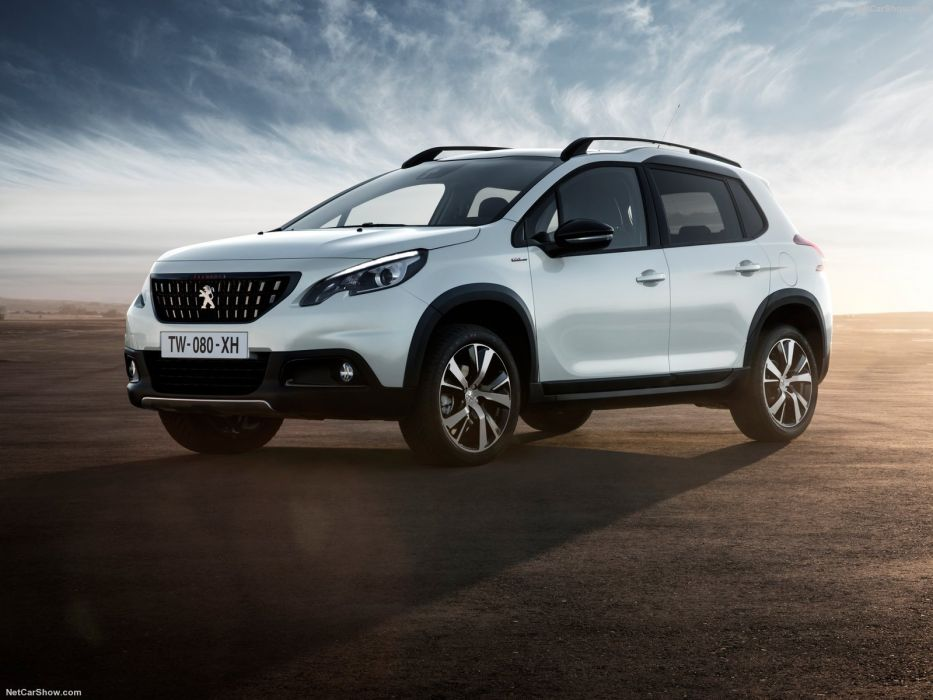 Peugeot 2008 cars gt line white 2016 wallpaper